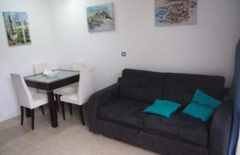 T2 meublé de 27,98 m² avec terrasse