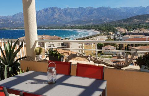 T3 de 85,07 m² avec vue mer, terrasse panoramique de 29 m² et garage de 34,30 m²