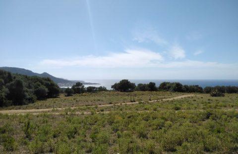 Terrain à bâtir de 2000 m² vue mer et montagnes