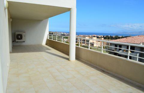 T4 neuf de 150 m² avec 52 m² terrasses vue mer