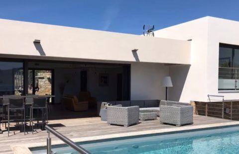 Villa de 221 m² avec piscine et vue mer et citadelle, terrain 1000 m²